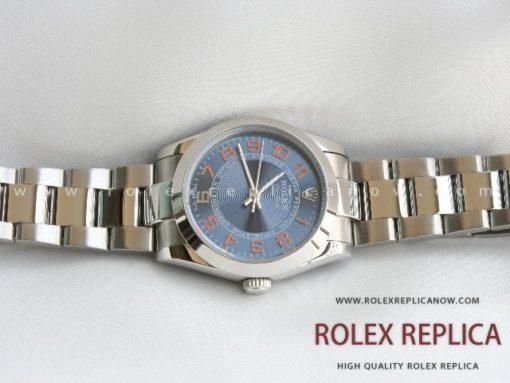 Rolex Air King Replica Blue Dial (2)