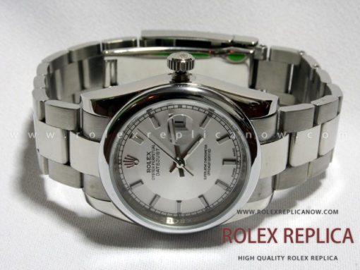 Rolex Date Just Replica White Dial (1)