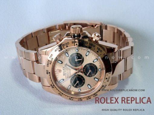 Rolex Daytona Replica Everose Pink Dial (1)