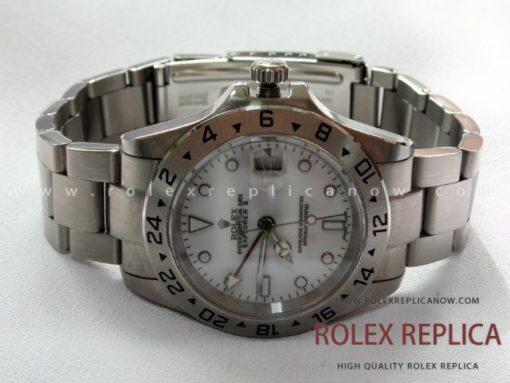 Rolex Explorer II Replica White Dial  (1)