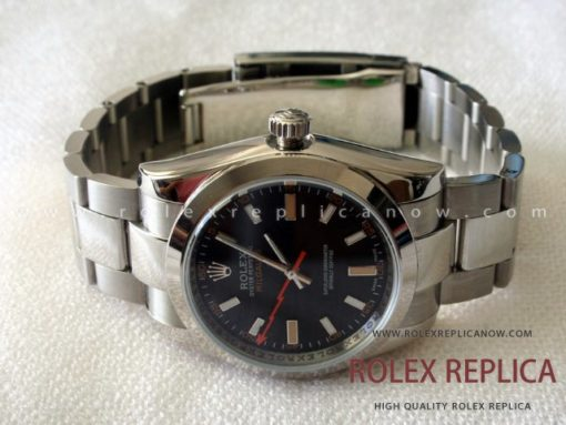 Rolex Milgauss Replica Black Dial (1)