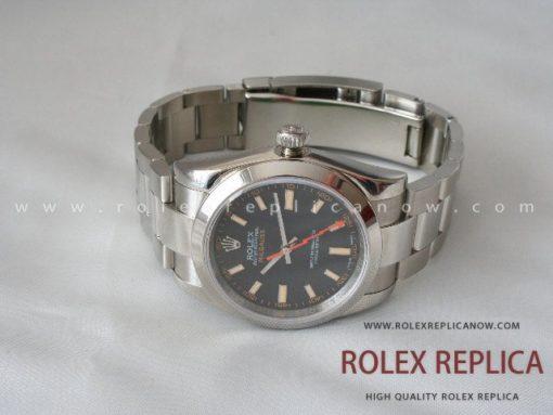 Rolex Milgauss Replica Black Dial 2836-2 Swiss Eta (13)