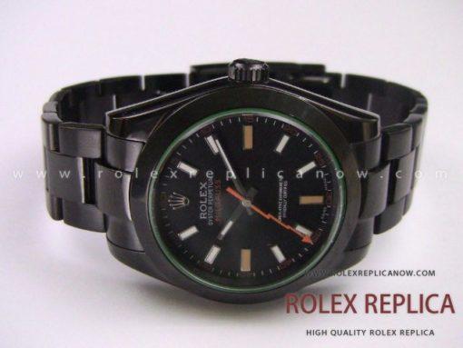Rolex Milgauss Replica Pro Hunter Pvd Black (1)