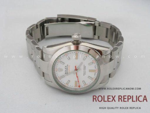 Rolex Milgauss Replica White Dial (4)