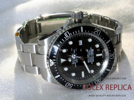 Rolex Sea Dweller Deepsea Replica Black Dial (2)