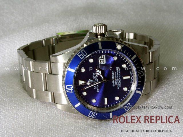 Rolex Submariner Date Replica Blue Dial