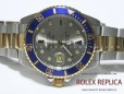 Rolex Submariner Date Replica Blue Bezel Steel and Gold (11)