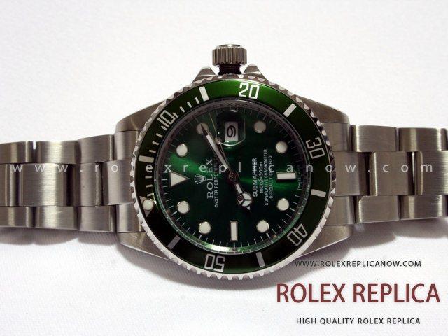 Rolex Submariner Date Replica Green Dial
