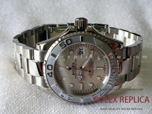 Rolex Yacht Master II Replica Platinum Dial (1)