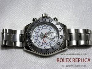 Rolex Yacht Master II Replica White Dial